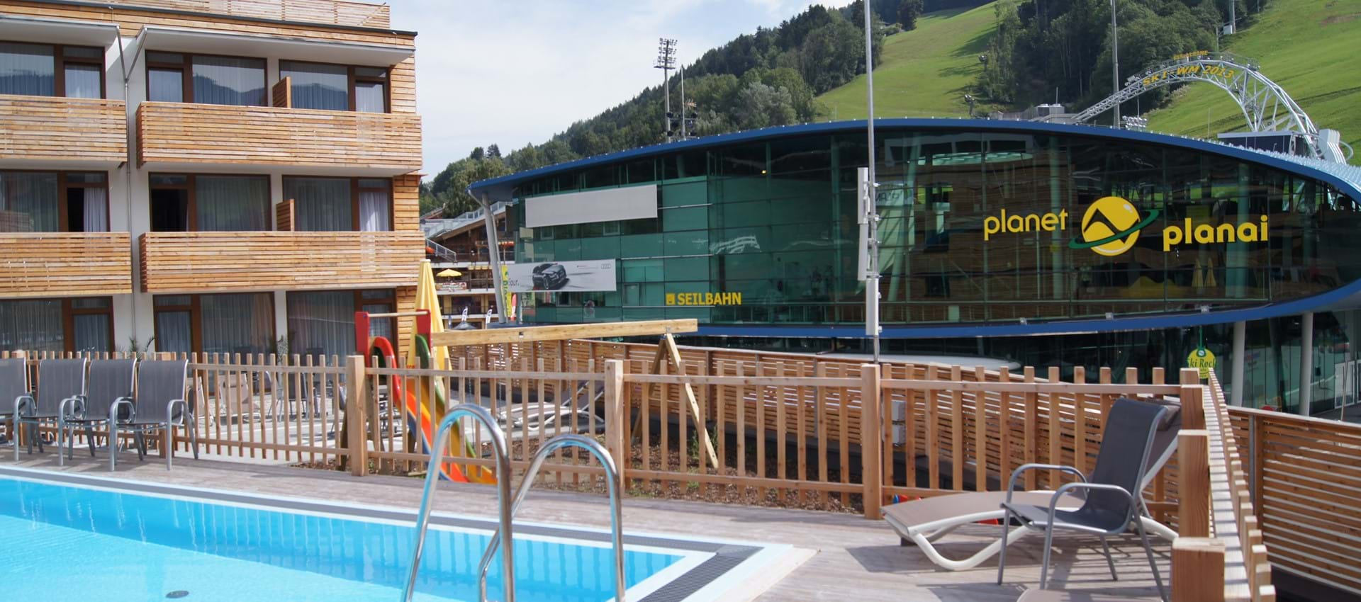 Pool im Hotel Planai in Schladming
