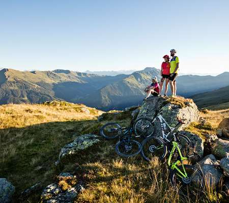 Mountainbiking in Saalbach
