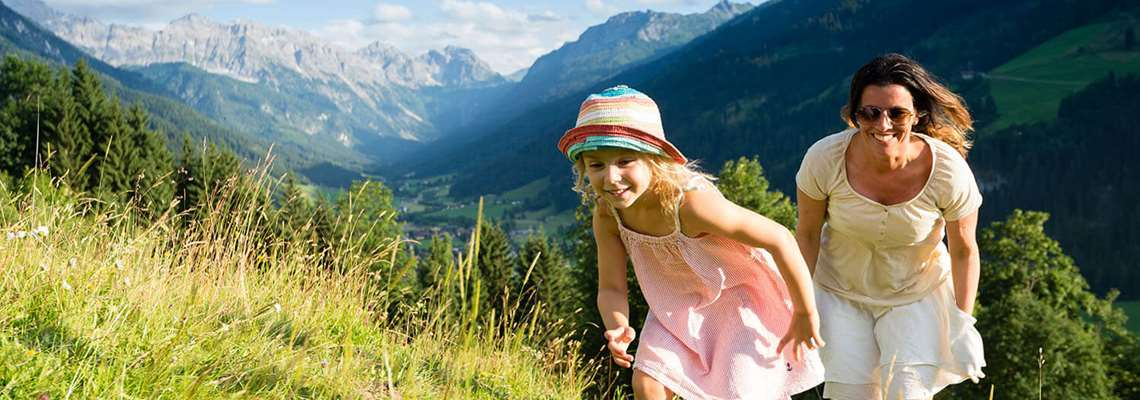 Summer holiday in the Alps with Lion Alpin - family holiday