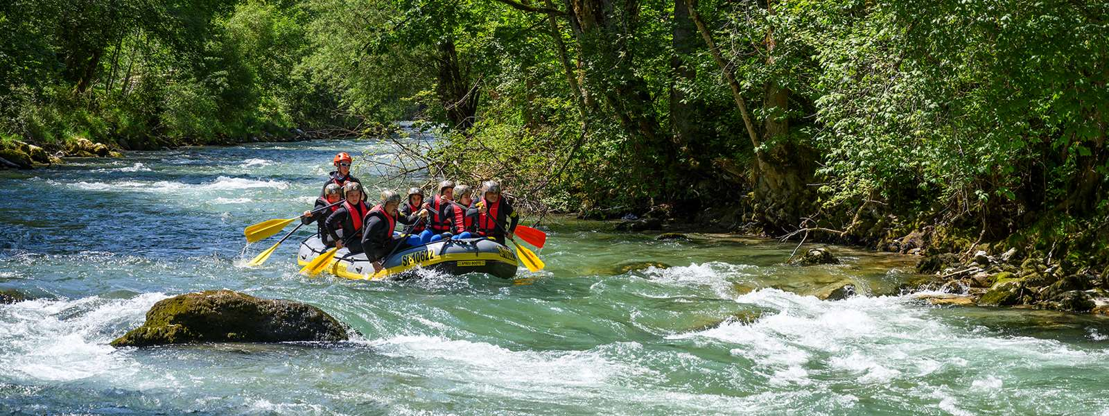Rafting i Schladming